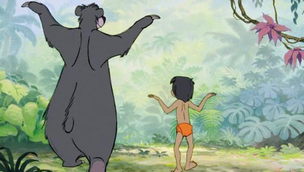 THE BARE NECESSITIES (THE JUNGLE BOOK)