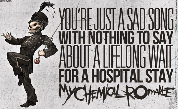DISENCHANTED – MY CHEMICAL ROMANCE